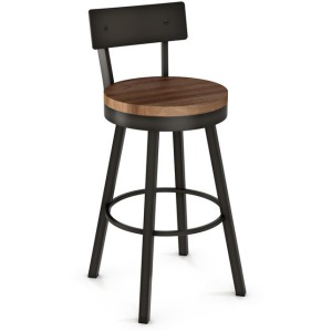 Lauren Counter Height Swivel Stool - Wood Seat