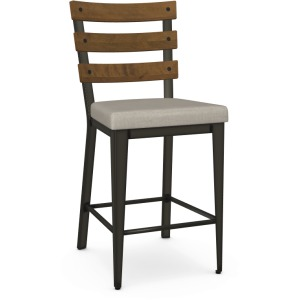 Dexter Counter Stool - Upholstered Seat