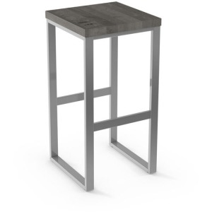 Aaron Counter Stool - Wood Seat
