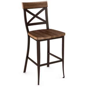 Kyle Counter Height Stool - Wood Seat