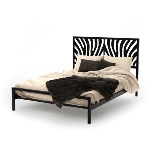 Zebra Regular footboard bed