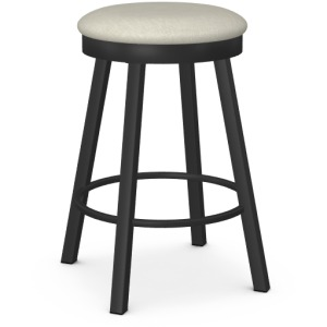 Connor Swivel Stool - Counter Height - Upholstered Seat