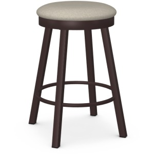Connor Counter Swivel Stool - Upholstered Seat