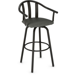 Gatlin Counter Height Swivel Stool - Upholstered Seat
