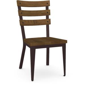 Dexter Side Chair - Oxidado & Toasty - Wood Seat