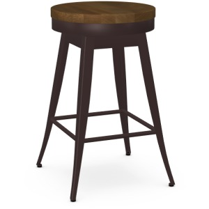 Grace Counter Height Swivel Stool - Wood Seat