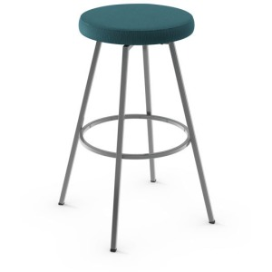 Hans Counter Swivel Stool - Upholstered Seat