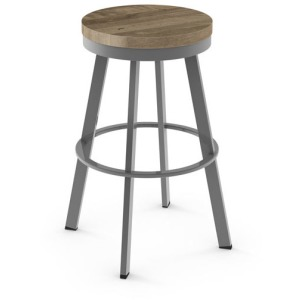 Warner Swivel stool (wood)