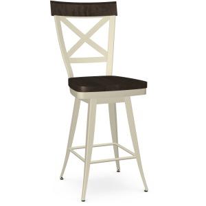 Kyle Counter Swivel Stool - Wood Seat