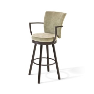 "Cardin Swivel Stool - 30"" Bar Height"