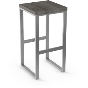 Aaron Counter Height Stool - Wood Seat