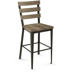 Dexter Counter Stool - Wood Seat