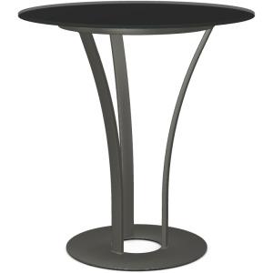 Dalia Pub Table with Starstone on Glass Tabletop