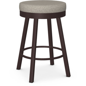 Rudy Counter Height Swivel Stool - Upholstered