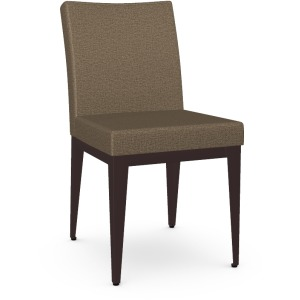 Pedro Side Chair - Oxidado & Canyon - Upholstered Seat