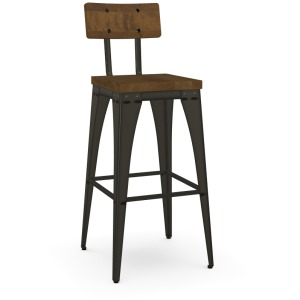Upright Non Swivel Stool - Bar Height
