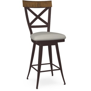 Kyle Counter Swivel Stool - Upholstered Seat