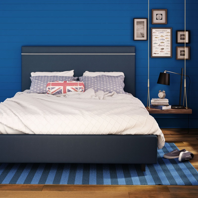 Breeze Upholstered bed (rope)