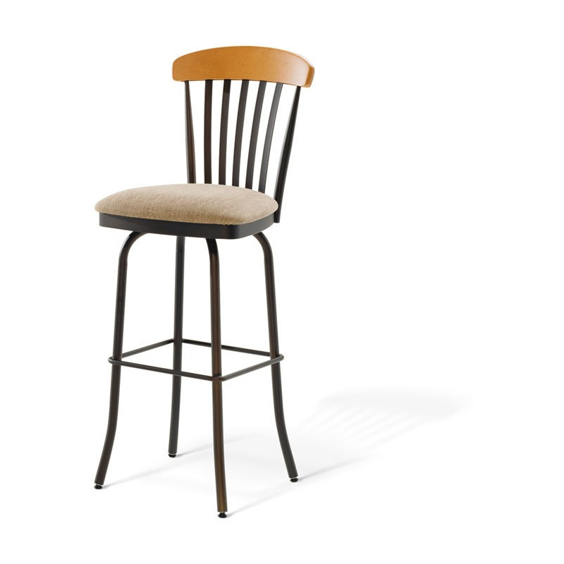 Terrific Tammy Swivel Stool By Amisco 41418 Rileys Furniture Creativecarmelina Interior Chair Design Creativecarmelinacom