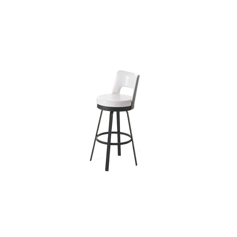 Astonishing Brock Swivel Stool By Amisco 41435 Rileys Furniture Creativecarmelina Interior Chair Design Creativecarmelinacom