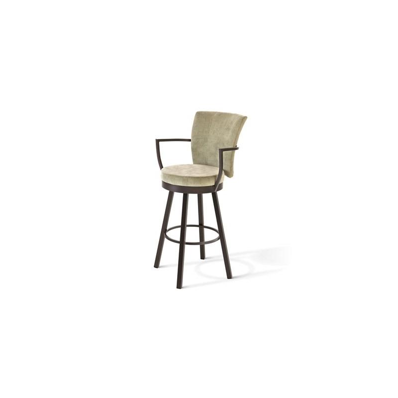 Terrific Cardin Swivel Stool By Amisco Oskar Huber Furniture Design Creativecarmelina Interior Chair Design Creativecarmelinacom