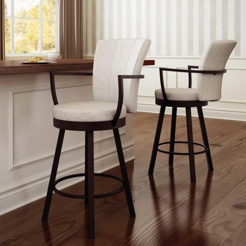 cardin swivel stool  counter heightamisco  4143026