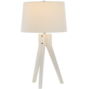 "27"" Table Lamp - Weathered White"