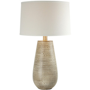 "Coffee Bean 27.5"" Table Lamp"