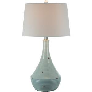 """28.25"""" Table Lamp - Ceramic Blue"""