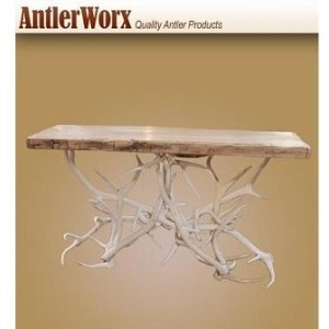 Bleach Antler Sofa Table