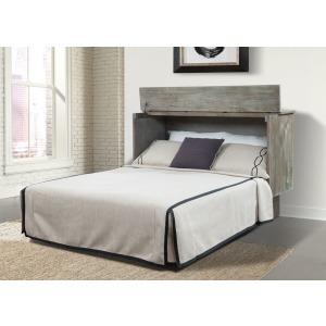 Creden-Zzz Studio Ash Queen Cabinet Bed