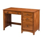 Alder 4 Drawer Desk