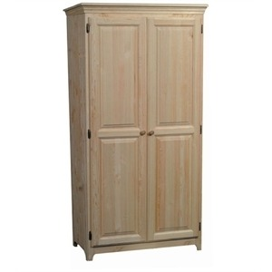 Wardrobe with Hang Rod