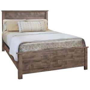 Portland Queen Shiplap Bed