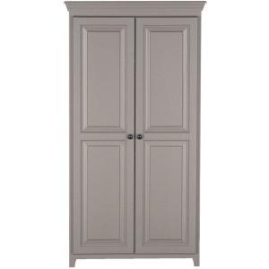 2 Door Pantry - Storm Gray