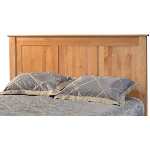 Alder Queen Shaker Panel Headboard