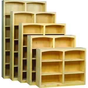 Pine 48 Inch Bookcase