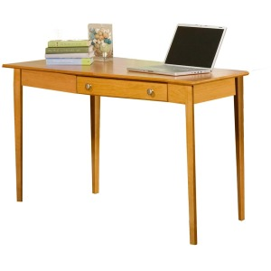 Alder Wedge Desk - Left