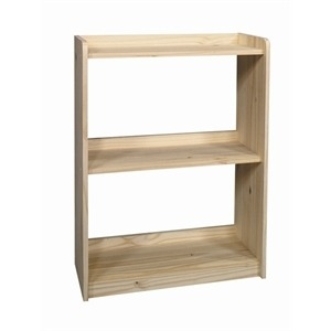 "36"" Open Back Bookcase"
