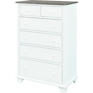 Portland 6 Drawer Chest