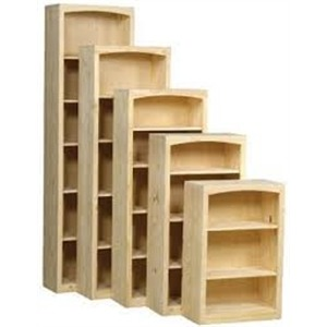 "Shaker Pine 24"" wide Bookcases"