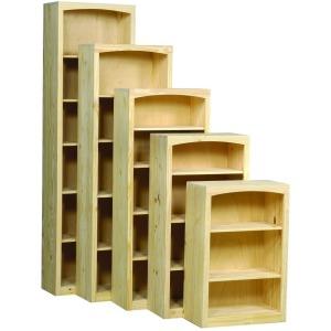 Pine 24 Inch Bookcase