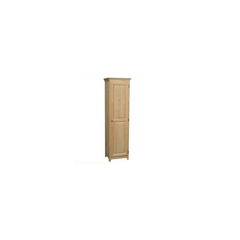Shaker Pine 1 Door Pantry