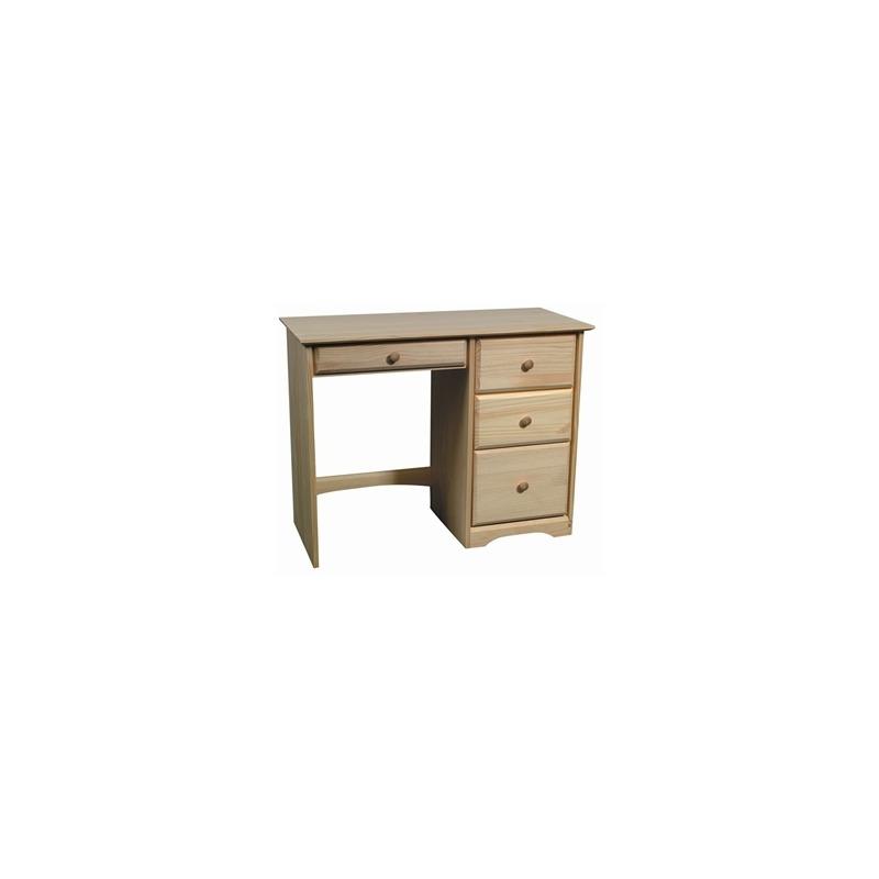 Shaker Pine 4 Drawer Desk