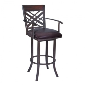 "Tahiti 30"" Arm Barstool in Auburn Bay"
