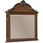 Crowned Landscape Mirror