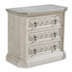 ARCH SALVAGE GABRIEL BEDSIDE CHEST - MIST