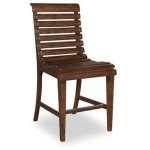 Counter Height Slat-back  Dining Chair