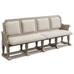 Arch Salvage Becket Dining Bench