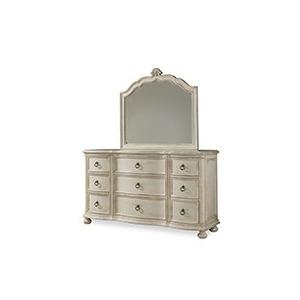 Provenance Triple Dresser with Bun Foot  Linen